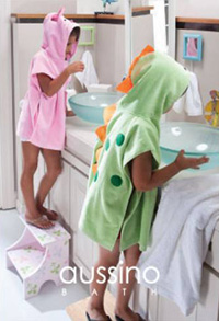 澳西奴兒童浴巾系列