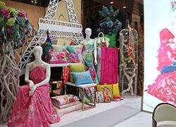 巴黎春天家纺形象展示