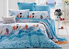 蓝丝羽家纺产品展示